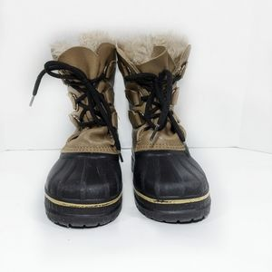 Vintage SOREL Caribou winter kids boot sz 4